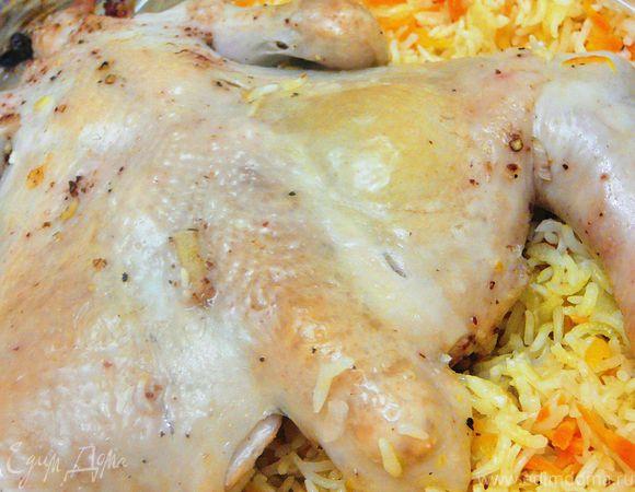 Курочка с рисом