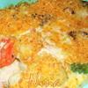Цветная капуста под сливочно-грибным соусом