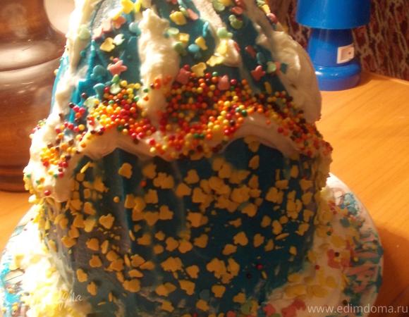 """Торт """"Пасхальное яичко"""""""