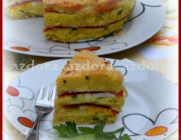 Картофельное гато