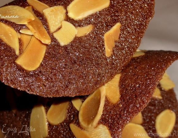 Шоколадные чипсы с миндалем