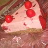 Торт «Клубничная нежность» на миндальной подложке