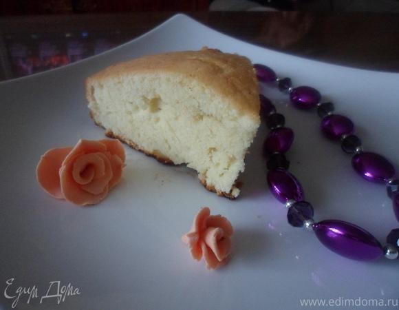 Бретонский пирог с курагой