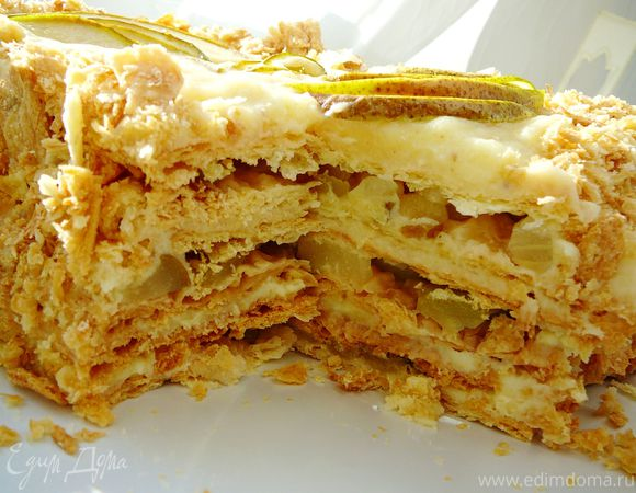"""Торт """"Грушевый Наполеон"""""""