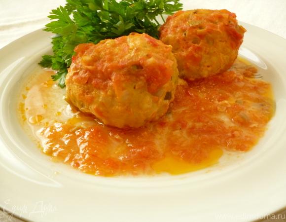 Нежнейшие рыбные тефтельки в кисло-сладком соусе