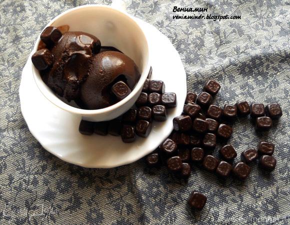 Шоколадное сорбе