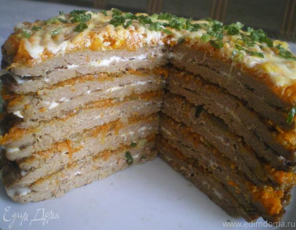 Печеночные тортики