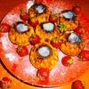 Сырники с клубникой
