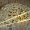 Лепешка с зеленым луком