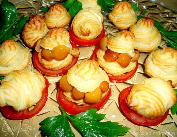 Эклеры из картофеля