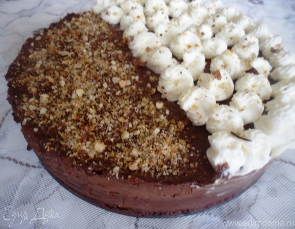 "Торт ""Шоколад и сливки"""