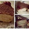 Шоколадно-творожные пирожные