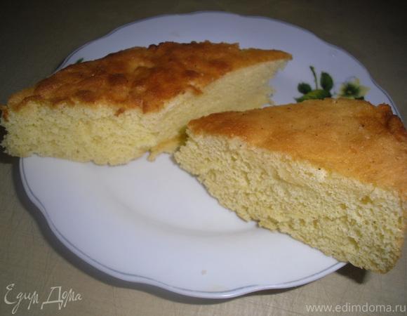 Дебютный рецепт бисквита