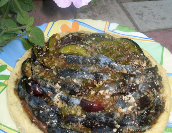 Изысканный сливовый тарт