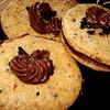 Печенье с шоколадной крошкой к чаю