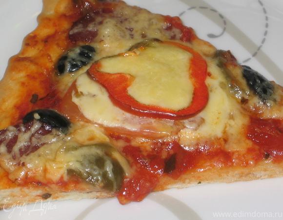 Пицца на бездрожжевом тесте