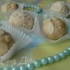 Конфеты с белым шоколадом и миндалем