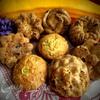 Кабачковые кексы с виноградом и семечками
