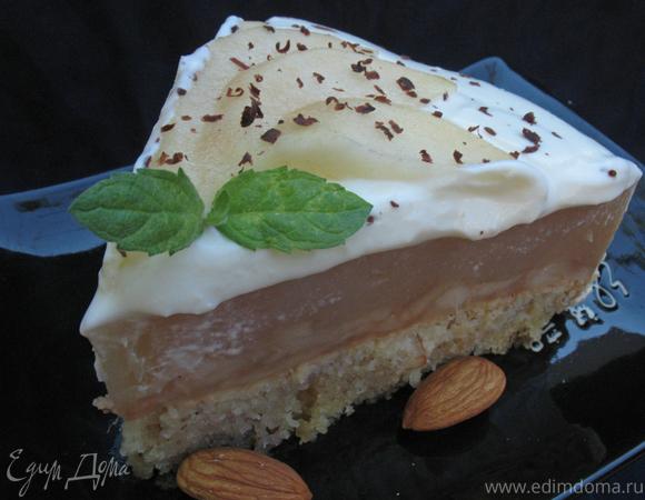 Грушевый торт