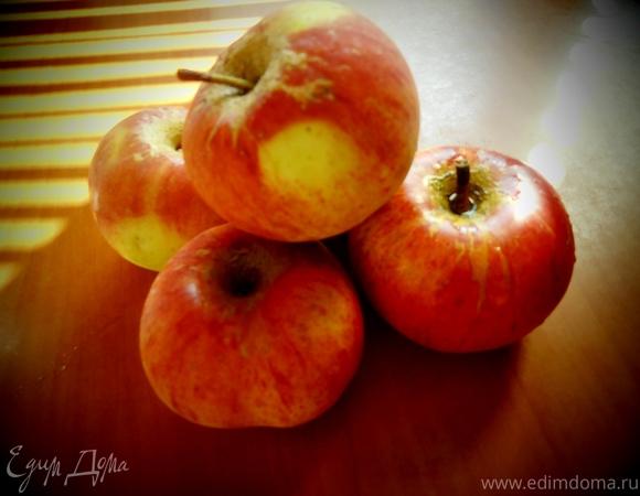 Пирог яблочный с сыром