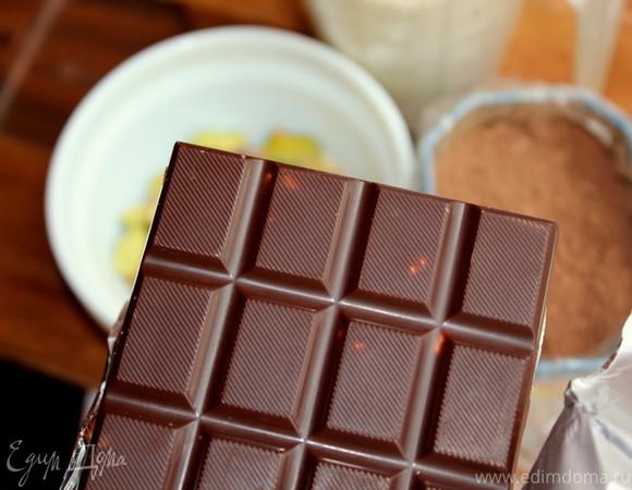 """Шоколадный кекс с фисташками. Готовим вместе с """"HomeQueen Corporation"""""""