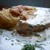 Эскалоп из курицы под соусом