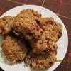 Овсяное печенье с клюквой