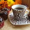 Бананово-кофейные кексы с шоколадом