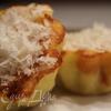 Картофельно-сырное пирожное с курицей