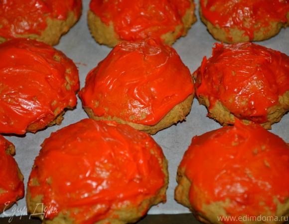 Мягкие тыквенные печенья в старом стиле