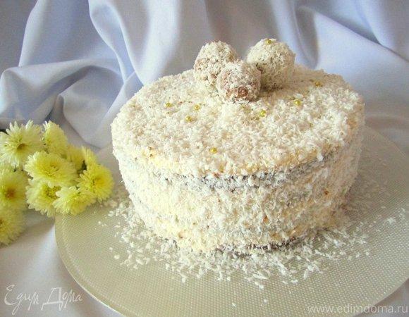 "Торт ""Рафаэлло"""