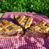 Итальянская кростата с инжиром и грецкими орехами