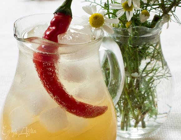 Ромашковый лимонад с чили