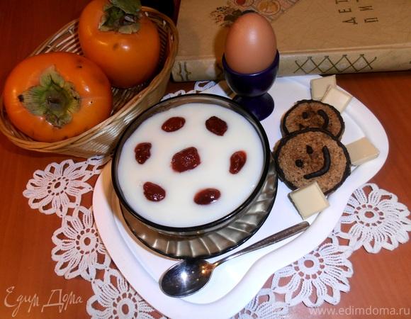назад в СССР: Кисель молочный