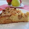 Легкий яблочный пирог