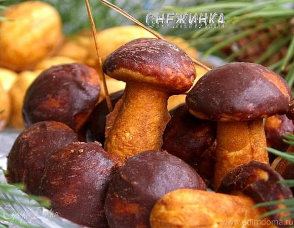Назад в СССР: Печенье «Грибочки» и «Орешки со сгущенкой»