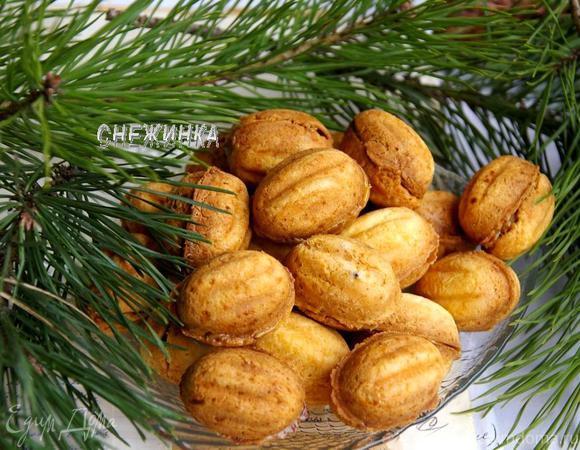 рецепт для выпечки печенья орешки и грибочки