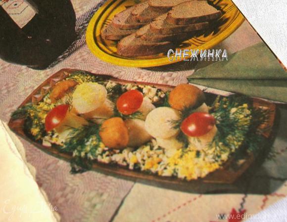 Назад в СССР: Салат «Грибная поляна»