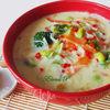 Тайский суп с зеленым карри