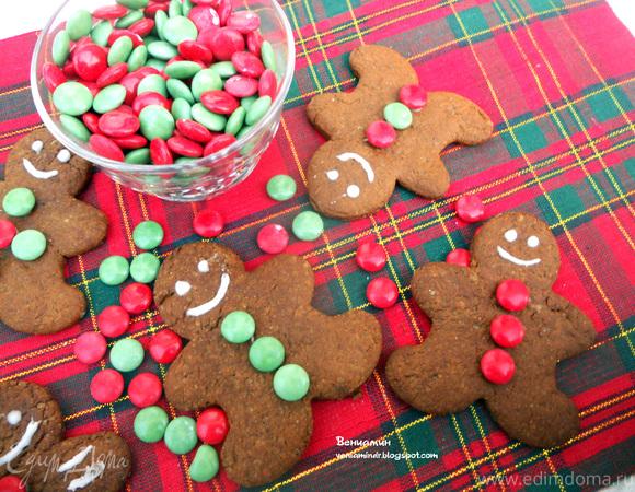 Имбирные человечки (Gingerbread men)
