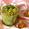 Мусс из авокадо с апельсином