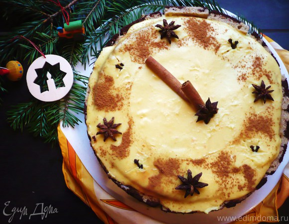 рецепт пирожное снегурочка
