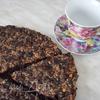 Шоколадно-ореховый пирог с черносливом