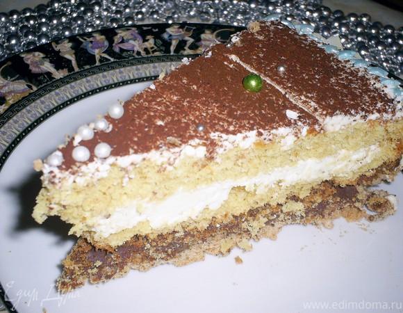 """Торт """"Шифон в шоколаде"""""""