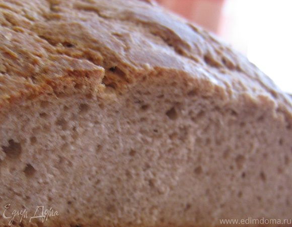 Хлеб по-деревенски (без дрожжей)