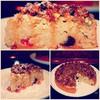 Овсяно-яблочный пирог с ореховым штрейзелем с тыквенными семечками