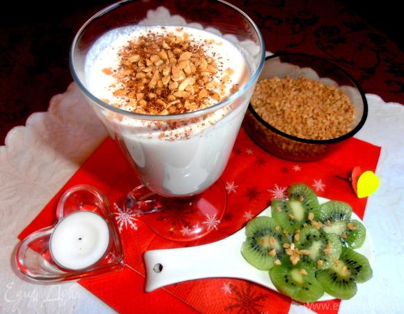 Творожный коктейль на завтрак