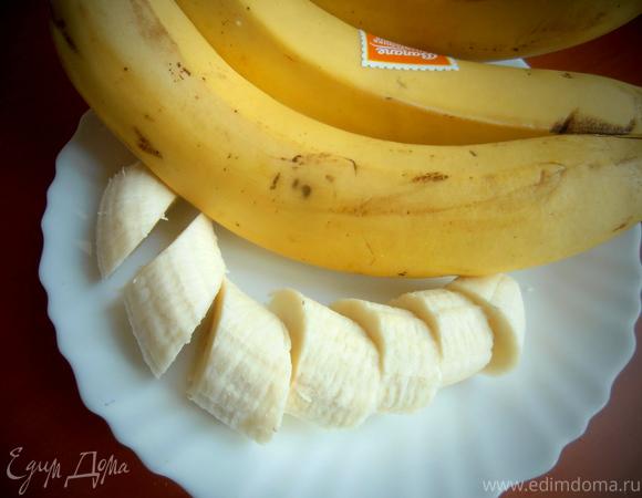 """Банановый десерт """"Зефирка"""""""