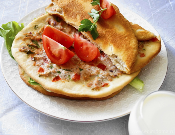 Лахмаджун - Турецкие лепешки