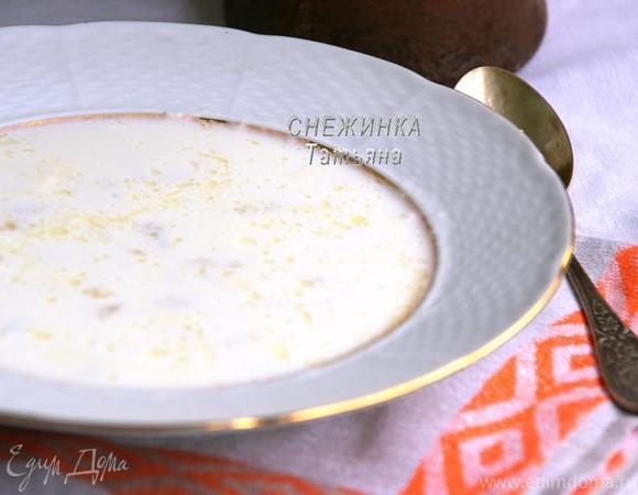 Молочный суп «Затирка» (Малочны суп «Зацiрка»)
